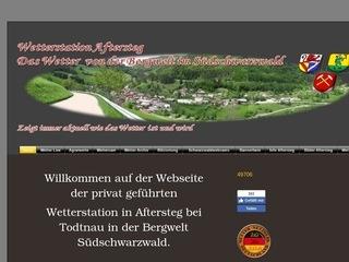 Live Wetterbildervon Aftersteg im Schwarzwald