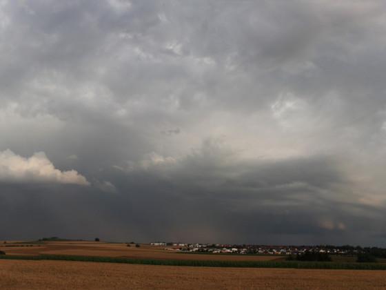 Gewitterwolken - Panoramaaufnahme