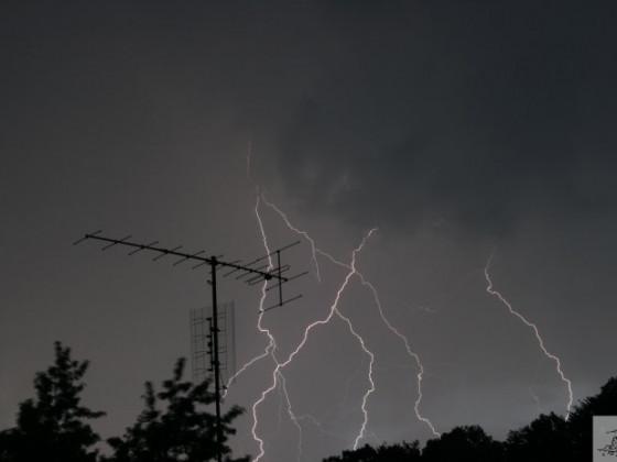 Gewitter über Lorch
