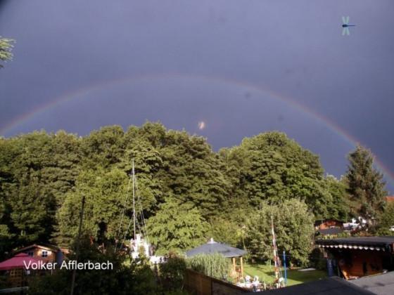 Regenbogen am 15.6.2008 in Bremen Aumund