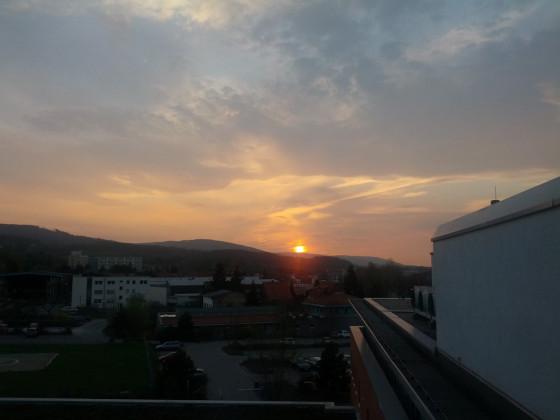 Sonnenuntergang in Wernigerode