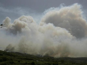 Waldbrand im Sommer 2006 auf Teneriffa