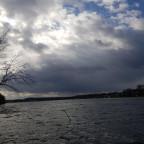 Haufen / Stratocumulus u. Cumulus mit dunkle schichtige Wolkenbasis - Fallstreifen (Regen)